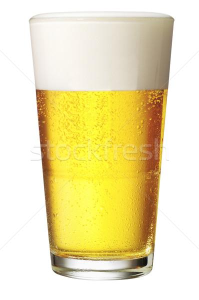 идеальный стекла пива пить пузырьки Сток-фото © crisp