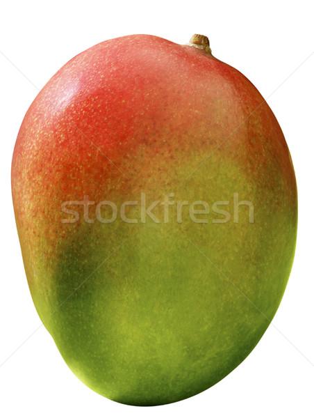 манго изолированный белый природы фрукты зеленый Сток-фото © crisp