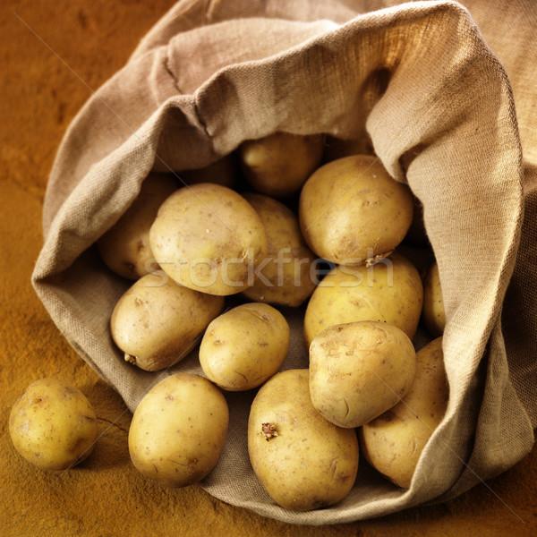 Saco batatas rico colorido comida mercado Foto stock © crisp