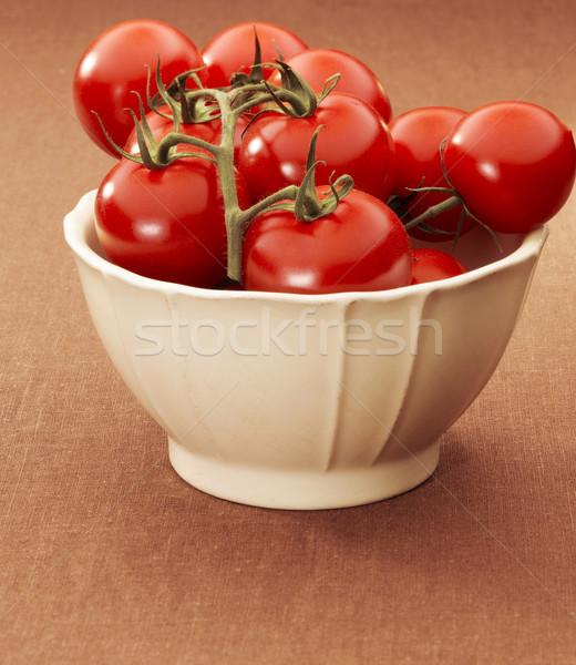 чаши помидоров пару свежие Сток-фото © crisp