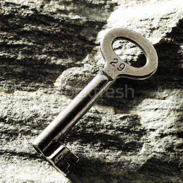 Chave rochas velho perdido Foto stock © crisp