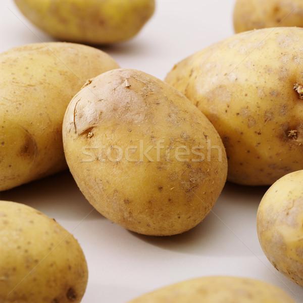 Gıda pazar sebze taze patates sağlıklı Stok fotoğraf © crisp