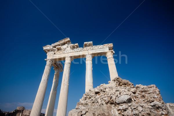 Apollo temple ruins Stock photo © csakisti