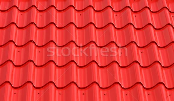 red metal roof tiles Stock photo © csakisti