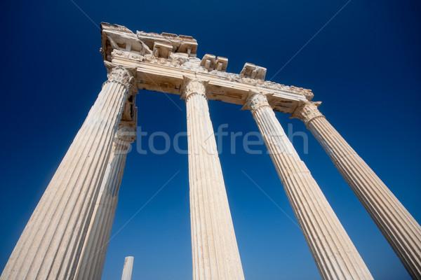 Apollo temle ruins Stock photo © csakisti