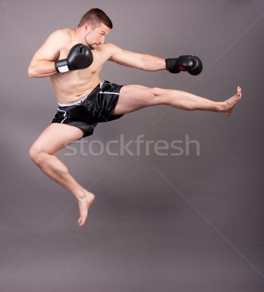 kick-boxer Stock photo © csakisti