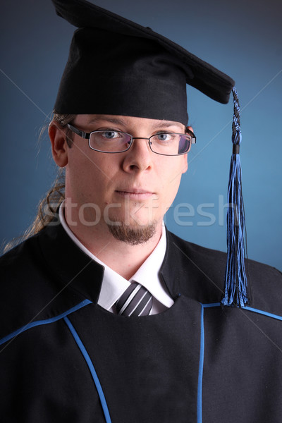 young graduation man Stock photo © csakisti