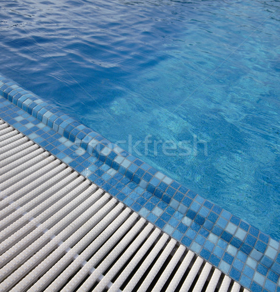 swimming pool blue water Stock photo © csakisti