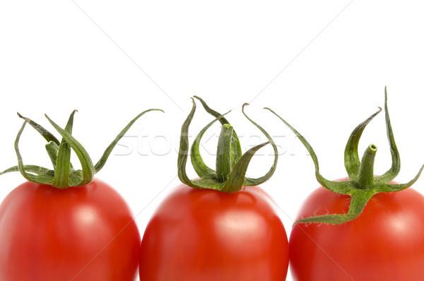 トマト 白 3  新鮮な 孤立した 自然 ストックフォト © CsDeli
