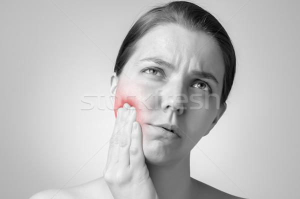 Toothache Stock photo © CsDeli