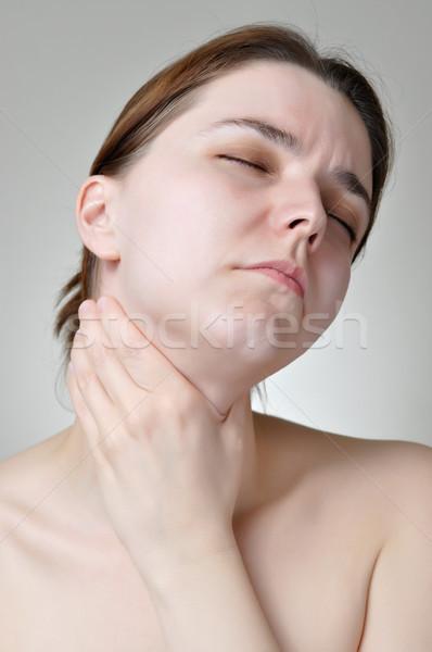 Throat pain Stock photo © CsDeli