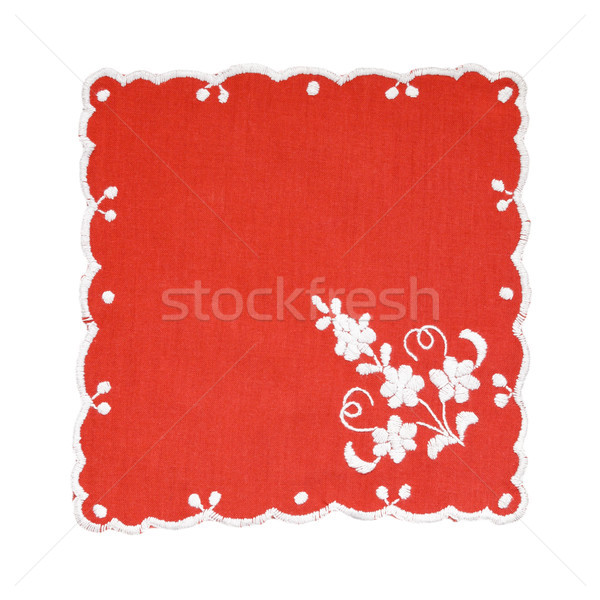 Embroidered Hungarian tablecloth Stock photo © CsDeli