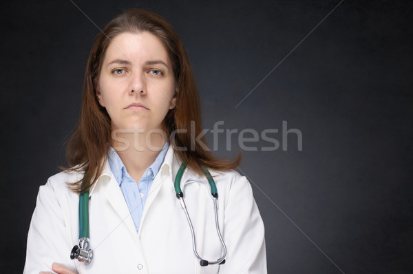 Sad doctor Stock photo © CsDeli