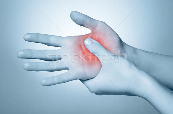 Woman with hand pain Stock photo © CsDeli