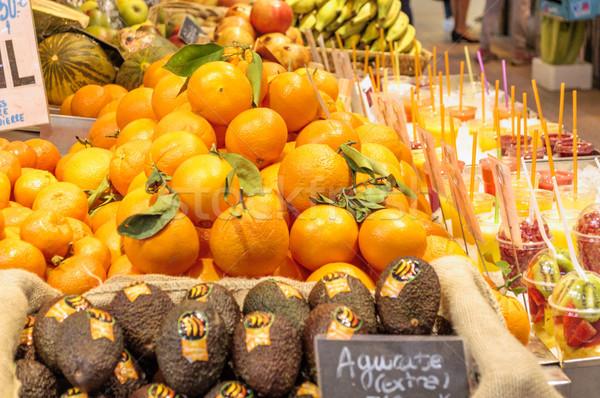 オレンジ 市場 セントラル バレンシア スペイン オレンジ ストックフォト © CsDeli