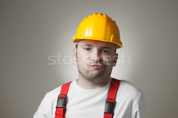 Disappointed young worker Stock photo © CsDeli