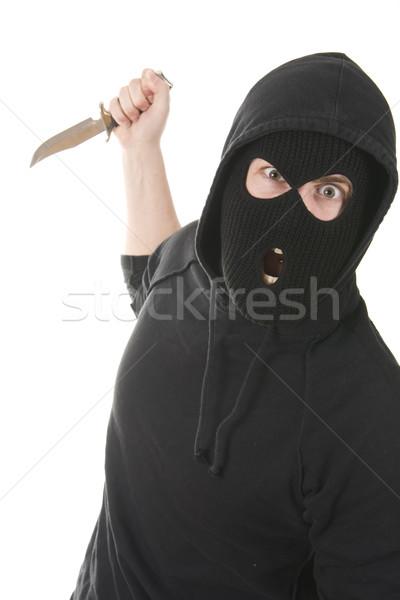 уголовный зла Scream маске мафия Сток-фото © ctacik