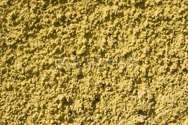 yellow wall texture Stock photo © ctacik