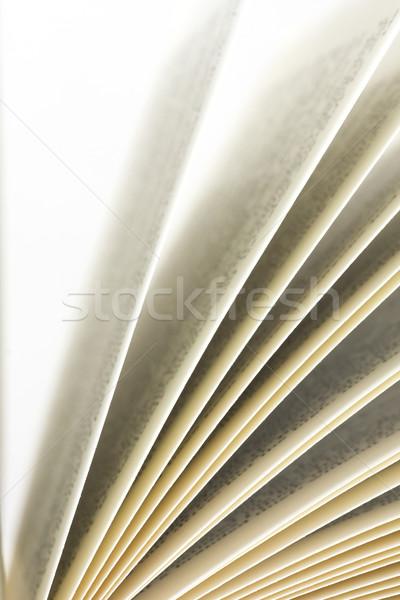 книга белый фон печать Сток-фото © ctacik