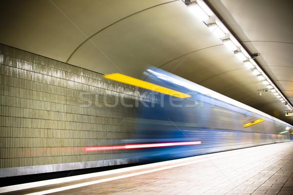 subway Stock photo © ctacik