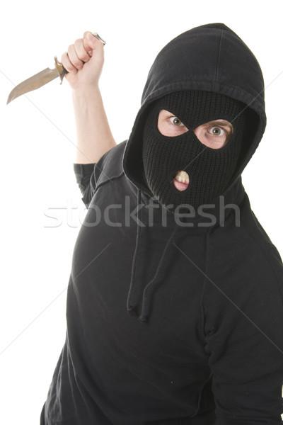 уголовный зла маске мафия плохо Сток-фото © ctacik