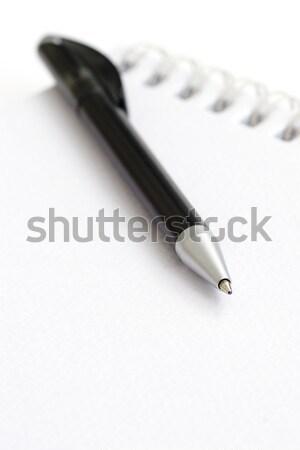 пер блокнот книга работу ноутбук письме Сток-фото © ctacik