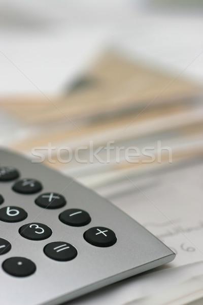 калькулятор аннотация служба бизнеса образование Дать Сток-фото © ctacik