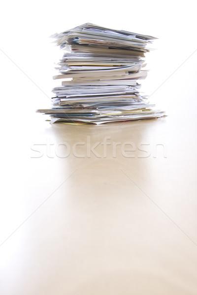 Documentos grande documentos imprimir dados Foto stock © ctacik