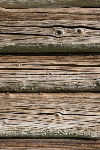 старые стены текстуры белый забор Сток-фото © ctacik