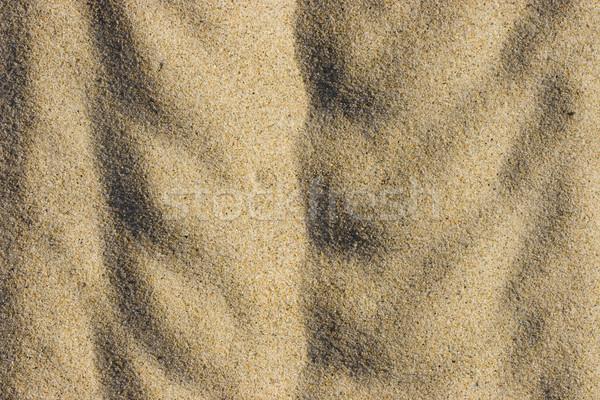 Kum soyut artistik plaj doğa arka plan Stok fotoğraf © ctacik