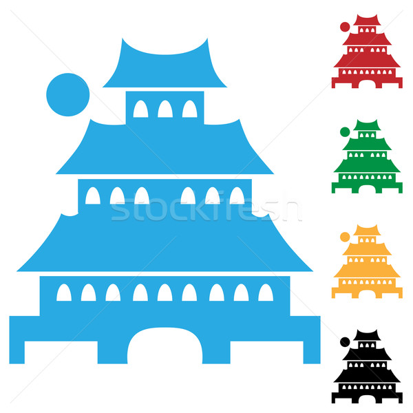 Pagoda Stock photo © cteconsulting