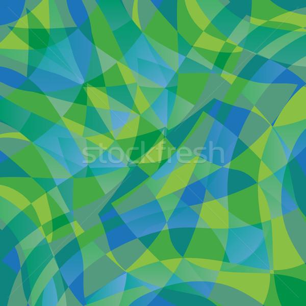 Geometric Wave Pattern Stock photo © cteconsulting