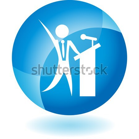 Geography Teaching Crystal Icon Stock photo © cteconsulting