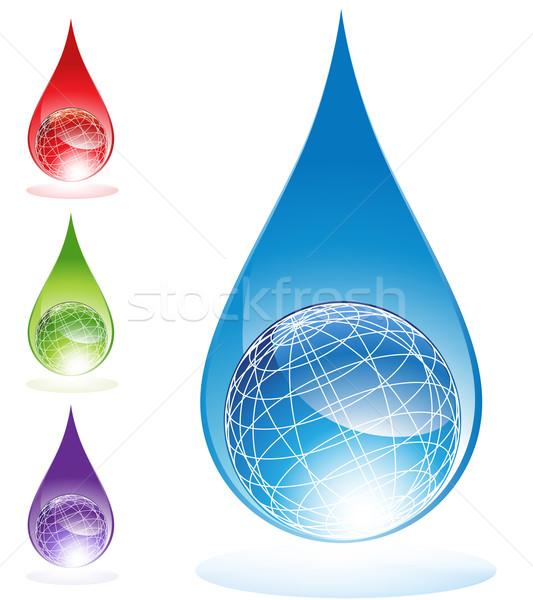 Water Globes Stock photo © cteconsulting