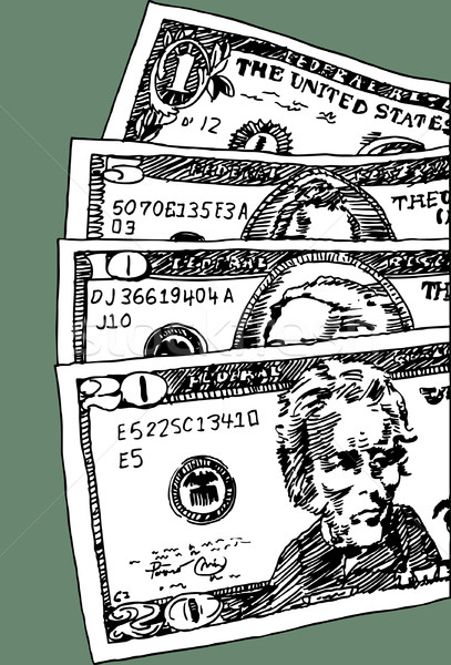 U.S. Currency Stock photo © cteconsulting