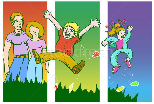 Family Fun Stock photo © cteconsulting
