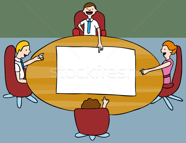 Board Meeting Stock photo © cteconsulting