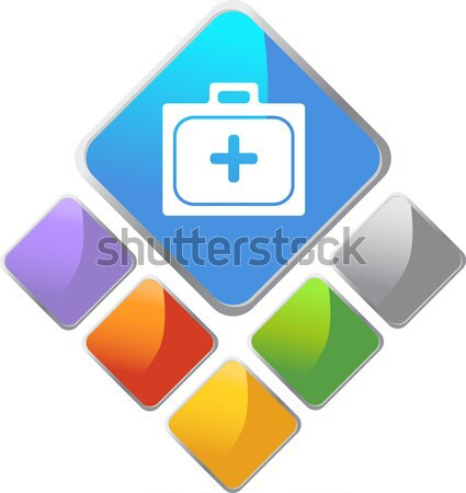 Ambulance Buttons Stock photo © cteconsulting