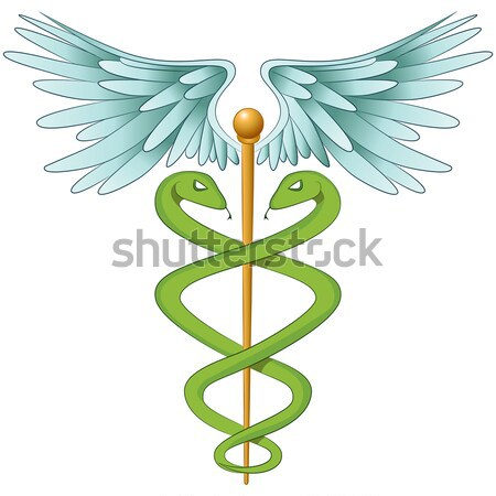 Medical Marijuana Caduceus Stock photo © cteconsulting