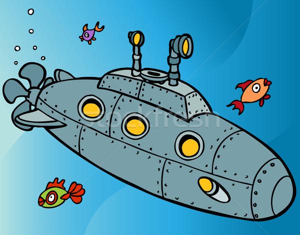 Podwodny podwodne obraz morza tle ocean Zdjęcia stock © cteconsulting