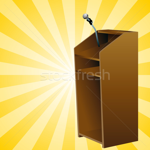 Podium Background Stock photo © cteconsulting