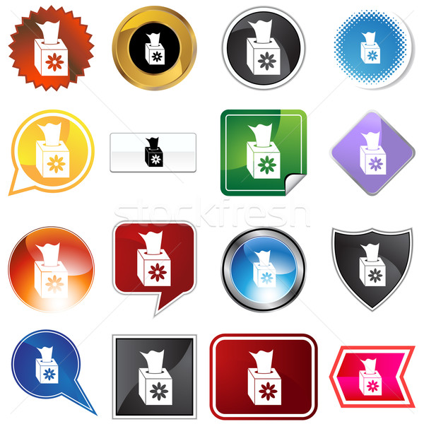 Multiple Buttons - Tissue Stock photo © cteconsulting