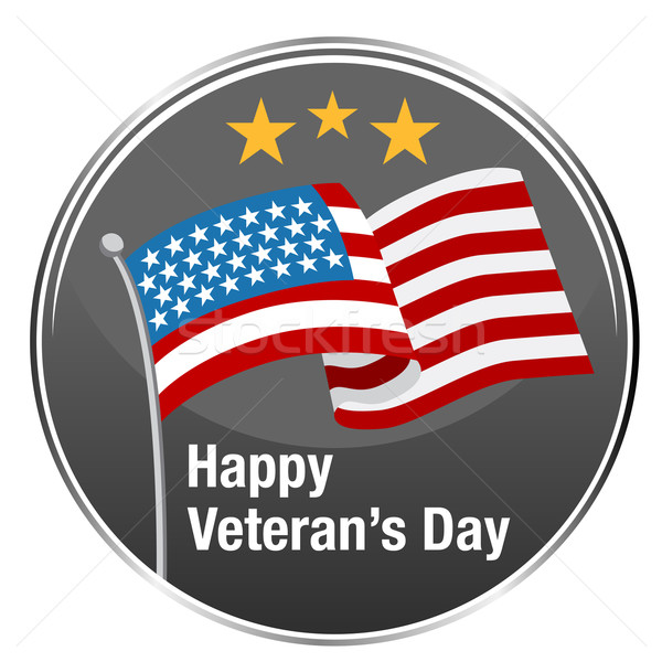 Happy Veterans Day Icon Stock photo © cteconsulting