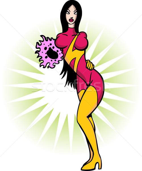 Sexy Superhero Stock photo © cteconsulting