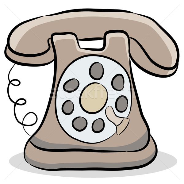Old Fashioned Telephone Stock photo © cteconsulting