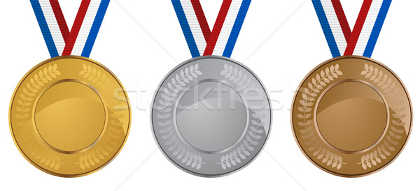 Olympic Medals Stock photo © cteconsulting