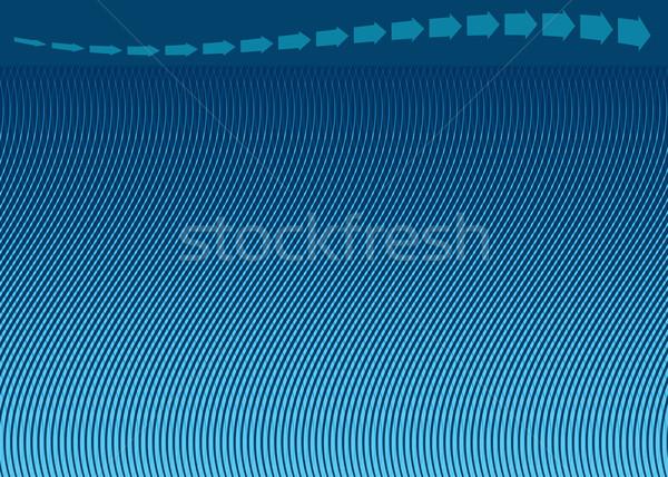 Transparent Curving Halftone Stock photo © cteconsulting