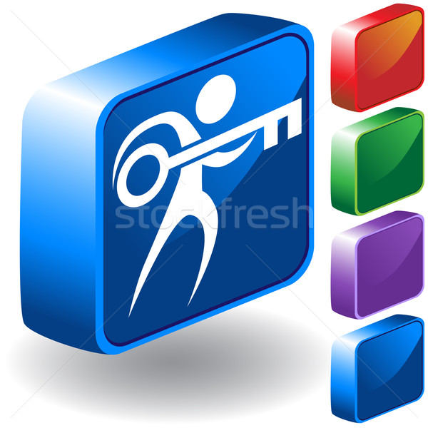 Person with Key Stock photo © cteconsulting