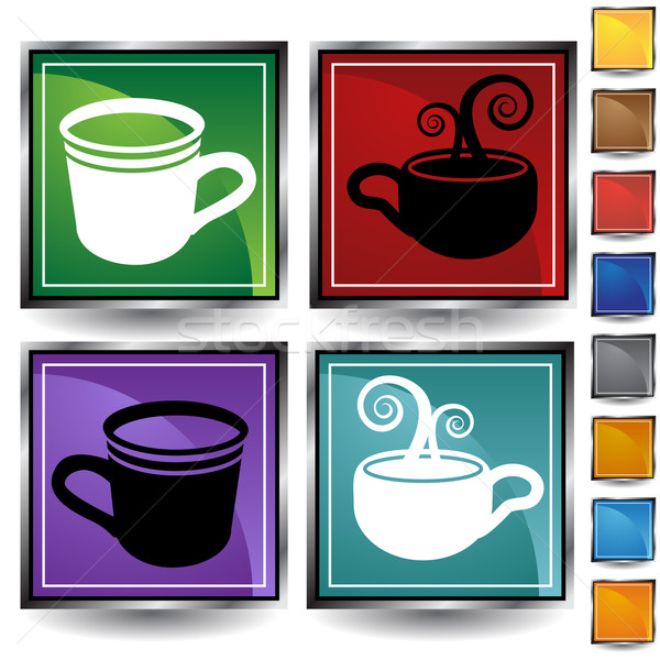 Coffee Cup Icon Stock photo © cteconsulting