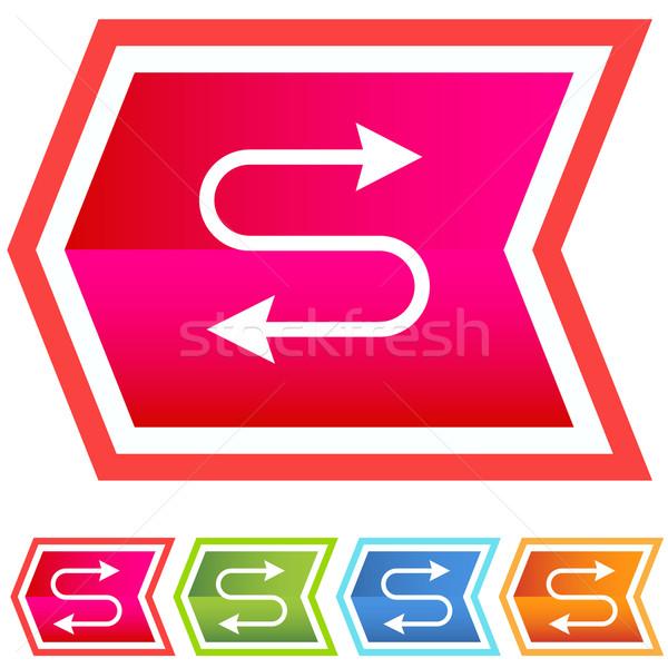 Ethernet ikon görüntü ağ kablo dijital Stok fotoğraf © cteconsulting